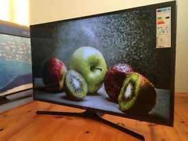 40in Samsung ue40ku6000 4k UHD HDR LED Smart TV 1300hz Freeview hd
