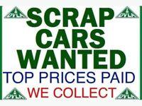 All Scrap cars wanted mot failures