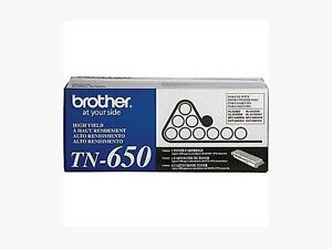 Brother TN650 Black Toner Cartridge, High Yield Regina Regina Area image 1