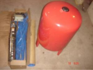 """""""NEW Jiadi Stainless Steel 4"""" submersible 3/4hp Well Pumps"""