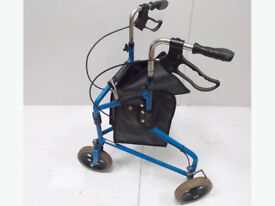 3 Wheel Mobility Walker with Bag