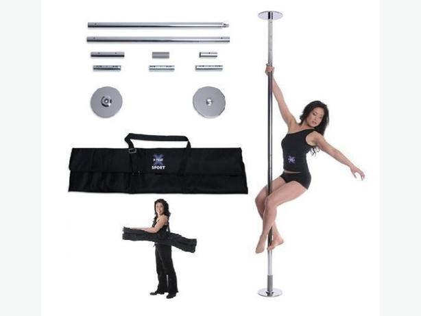 Pole dancing X-pole Sport, 50mm, static, chrome
