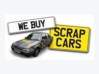 **SCRAP CARS/VANS BOUGHT FOR CASH** £££ NON RUNNERS/MOT FAILURES/END OF LIFE CARS/SCRAP CARS £££