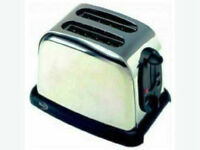 Like New 2 Slice Stainless Steel Toaster