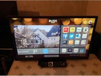 smart bush 32 inch hd led tv+built in apps+wifi+remote+DELIVERY