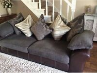 WANTED DFS MARTINA BROWN SOFA MUST BE FREE OR VERY CHEAP AS ONLY WANTING THE FABRIC FROM SOFA