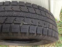 4 tires ONLY  4 x 255/55/18 TOYO observe Gs i5 WINTER tires %99.
