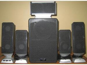 Cyber Acoustics CA-5648 Platinum Series Speaker System
