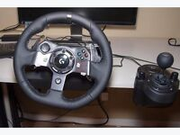 Logitech G920 Steering Wheel Xbox One/PC *QUICK SALE* £180