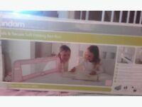Brand new Lindam Pink Bed Rail Guard