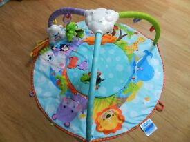 Fisher Price forest baby play gym .