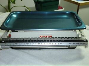 Balance scale vintage ancienne Roscan antique. Max 10 k