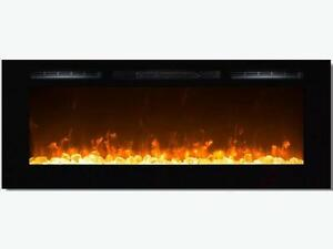 "60"" Built In Electric Fireplace"