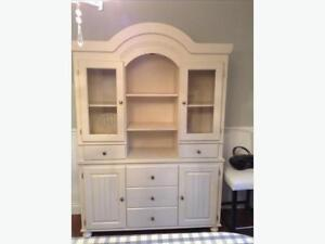 Cottage Retreat Buffet with Hutch - Ashley Furniture