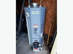 Dettson  water heater with Beckett Burner 2 years old