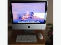 "2008 iMac 20"" with Apple wireless keyboard and mouse"