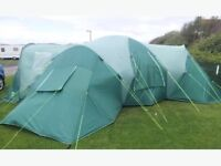 9 person tent - ideal for festivals and big groups