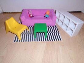 Peppa Pig-set -post it