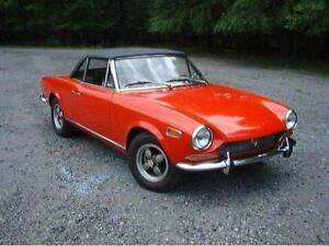 WANTED: Fiat 124 Spider Classic