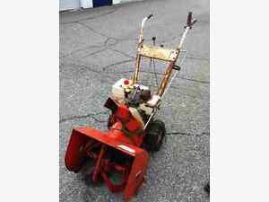 Snowblower/Lawnmower Retirement Removal