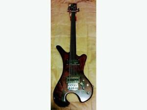 Custom Made 5 String Fretless Bass - $400 (Victoria)