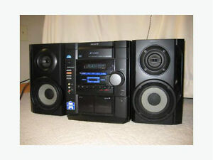 Sony MHCRG20 Compact Stereo System