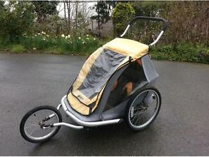 MEC Double Bike Trailer/Jogging