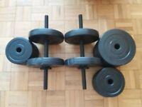 30 kg Dumbbells