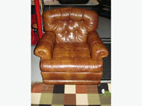 Leather Chair - Does Not Recline
