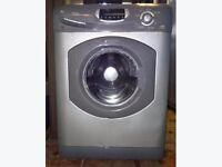 Hotpoint WF860 6kg 1600 Spin Silver LCD Super Silent Washing Machine 1 YEAR GUARANTEE FREE DEL N FIT