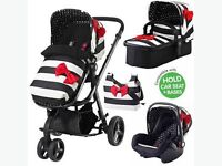Cosatto giggle go lightly travel system