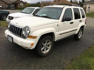 2005 Jeep Liberty leather / loaded SUV, Crossover $7800.00