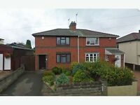 dss/working WILEY AVENUE, DARLASTON WEDNESBURY WS10 8QD 2 BED SEMI DETACHED