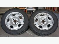 Rubber mats and winer tires Acura TL