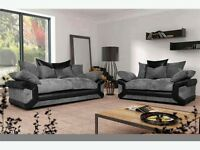 Brand new Sheldon sofas with free pouffe