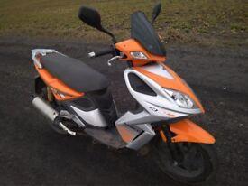 Skuter Kymco super 8 4T 2007rok 50ccm.