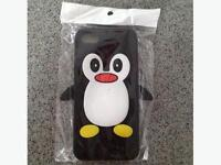 Brand New, Still In Package Silicone Penguin iPhone Case