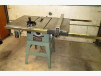 3 phase industrial table saw
