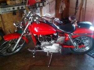 1975 Harley Iron Head 1000