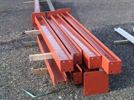 Posts, beams & Structural steel