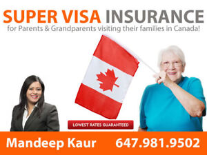 SuperVisa Insurance/ Visitor to canada Insurance