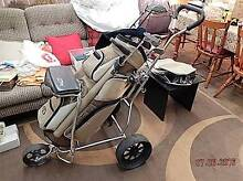 Golf Clubs with Bag Boy Buggy Redcliffe Belmont Area Preview