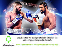 Tony Bellew VS David Haye - Boxing Tickets -- Read the ad description before replying!!