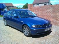 BMW 318i SE 2002 02 REG ALLOY WHEELS 12 MONTHS MOT