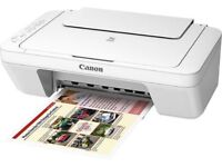AS NEW Canon PIXMA MG3051 Inkjet Printer, Wireless All-in-One (Copy, print and scan)