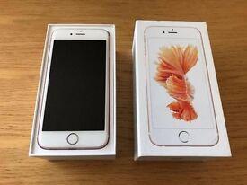 SPARES AND REPAIRS - BROKEN iPhone 6s - ROSE GOLD 16GB