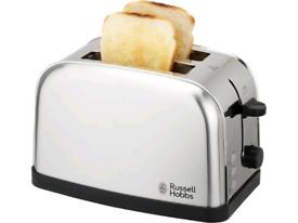 Russell Hobbs Futura Stainless Steel 2 Slice Toaster