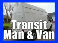 Transit Man & Van Ipswich - The Quick & Easy Way To Move It!