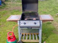 BBQ - 2 gas cylinders + grill