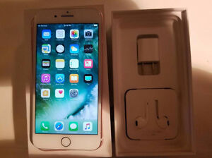 IPHONE 7 PLUS 128GB ROGERS & CHAT-R GOOD CONDITION CALL